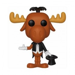 Figurine Pop Cartoons Rocky et Bullwinkle Magician Bullwinkle Funko Boutique Geneve Suisse