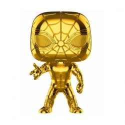 Figurine Pop Marvel Studios 10 Anniversary Iron Spider-Man Chrome Edition Limitée Funko Boutique Geneve Suisse