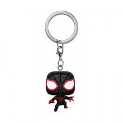 Figuren Pop Pocket Schlüsselanhänger Marvel Animated Spider-Man Miles Morales Funko Genf Shop Schweiz