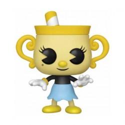 Figurine Pop Games Cuphead Ms. Chalice Funko Boutique Geneve Suisse