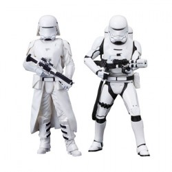 Figurine Star Wars The Force Awakens First Order Snowtrooper & Flametrooper Artfx+ Kotobukiya Boutique Geneve Suisse