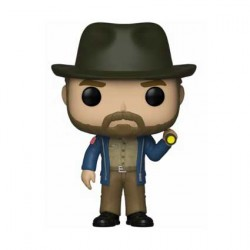 Figurine Pop TV Stranger Things Hopper with Flashlight Funko Boutique Geneve Suisse