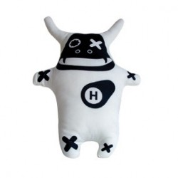 Figurine Demon Cow Blanc Toy2R Peluches Geneve