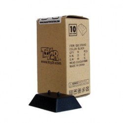 Figur Présentoirs Noir pour Qee Toy2R Geneva Store Switzerland