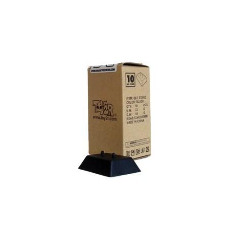 Figuren Schwarze Präsentationsvorrichtung für Qee Toy2R Genf Shop Schweiz
