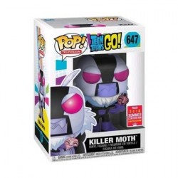 Figur Pop SDCC 2018 Teen Titans Go! Killer Moth Limited Edition Funko Geneva Store Switzerland