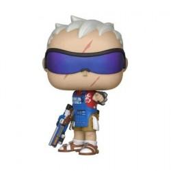 Figurine Pop SDCC 2018 Overwatch Soldier 76 Grillmaster Edition Limitée Funko Boutique Geneve Suisse