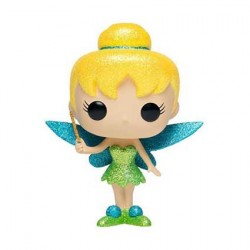 Figurine Pop Disney Diamond Peter Pan Tinker Bell Glitter Edition Limitée Funko Boutique Geneve Suisse