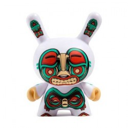 Figur 12.5 cm Kuba Dunny White by Mike Fudge Kidrobot Geneva Store Switzerland