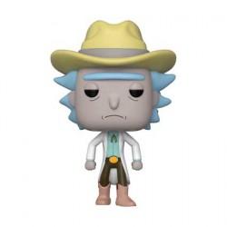 Figurine Pop SDCC 2018 Rick et Morty Western Rick Edition Limitée Funko Boutique Geneve Suisse
