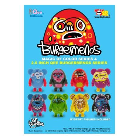 Figur Qee Egg Burgermenos Toy2R Blind boxes Geneva