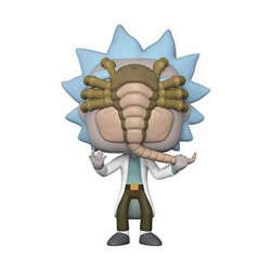 Figur Pop Rick and Morty Rick with Facehugger Limited Edition Funko Geneva Store Switzerland
