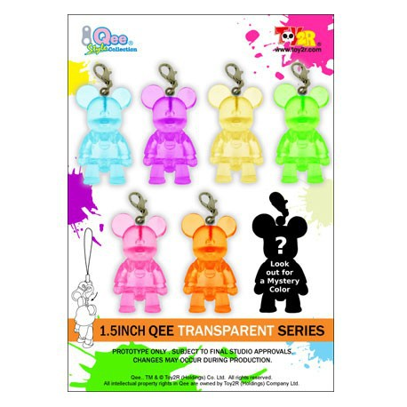 Figurine Mini Qee Transparent Toy2R Boîtes scellées Geneve