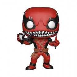 Figurine Pop Marvel Contest of Champions Venompool with Phone Edition Limitée Funko Boutique Geneve Suisse