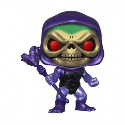 Figurine Pop Masters of the Universe Battle Armor Skeletor Metallic Edition Limitée Funko Boutique Geneve Suisse