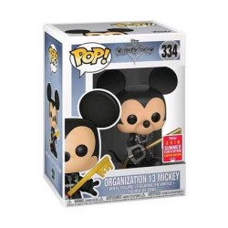 Figurine Pop SDCC 2018 Kingdom Hearts Mickey Organisation 13 Unhooded Edition Limitée Funko Boutique Geneve Suisse