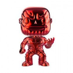 Figurine Pop Avengers Infinity War Thanos Rouge Chrome Edition Limitée Funko Boutique Geneve Suisse