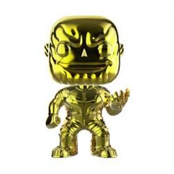 Figurine Pop Avengers Infinity War Thanos Jaune Chrome Edition Limitée Funko Boutique Geneve Suisse