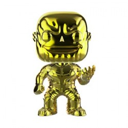 Figurine Pop Avengers Infinity War Thanos Yellow Chrome Edition Limitée Funko Boutique Geneve Suisse