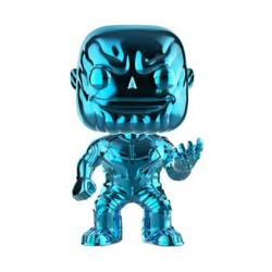 Figurine Pop Avengers Infinity War Thanos Bleu Chrome Edition Limitée Funko Boutique Geneve Suisse