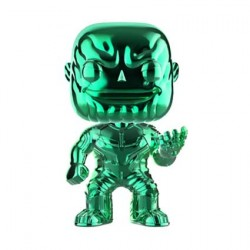 Figurine Pop Avengers Infinity War Thanos Green Chrome Edition Limitée Funko Boutique Geneve Suisse