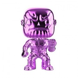 Figurine Pop Avengers Infinity War Thanos Purple Chrome Edition Limitée Funko Boutique Geneve Suisse