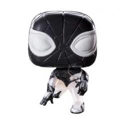 Figurine Pop Marvel's Spider-Man 2018 Negative Spider-Man Phosphorescent Edition Limitée Funko Boutique Geneve Suisse