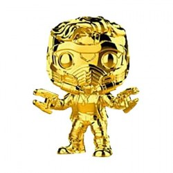 Figurine Pop Marvel Studios The First Ten Years Star-Lord Gold Chrome Edition Limitée Funko Boutique Geneve Suisse