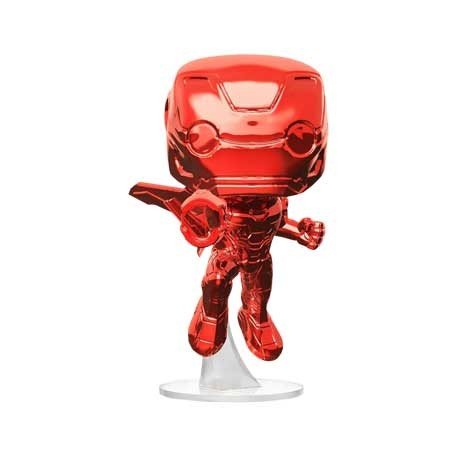 Figuren Pop Marvel Avengers Infinity War Iron Man Flying Red Chrome Limitierte Auflage Funko Genf Shop Schweiz