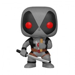 Figur Pop Marvel Deadpool X-Force Deadpool with Chimichanga Limited Edition Funko Geneva Store Switzerland