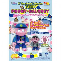 Qee Seen Blue P-Baloney by Seen