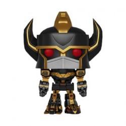 Figurine Pop 15 cm Power Rangers Megazord Black & Gold Edition Limitée Funko Boutique Geneve Suisse