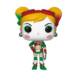 Figurine Pop DC Bombshells Harley Quinn Holiday Edition Limitée Funko Boutique Geneve Suisse