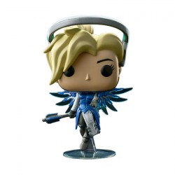 Figurine Pop Overwatch Mercy Cobalt Edition Limitée Funko Boutique Geneve Suisse