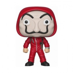 Figurine Pop La Casa de Papel Berlin with Dali Mask Chase Edition Limitée Funko Boutique Geneve Suisse
