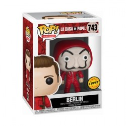 Figur Pop Money Heist Berlin with Dali Mask Chase Limited Edition Funko Geneva Store Switzerland