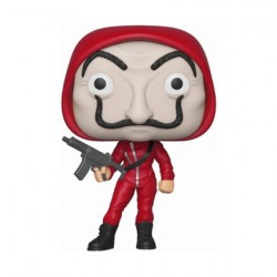 Figurine Pop La Casa de Papel Tokio with Dali Mask Chase Edition Limitée Funko Boutique Geneve Suisse