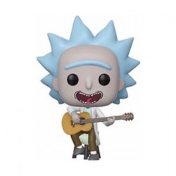 Figur Pop Rick & Morty Tiny Rick whit Guitar Limited Edition Funko Geneva Store Switzerland
