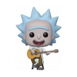 Figurine Pop Rick & Morty Tiny Rick avec Guitar Edition Limitée Funko Boutique Geneve Suisse