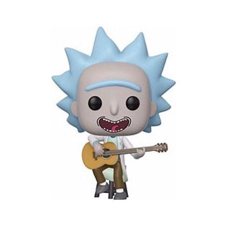 Figurine Pop Rick & Morty Tiny Rick whit Guitar Edition Limitée Funko Boutique Geneve Suisse