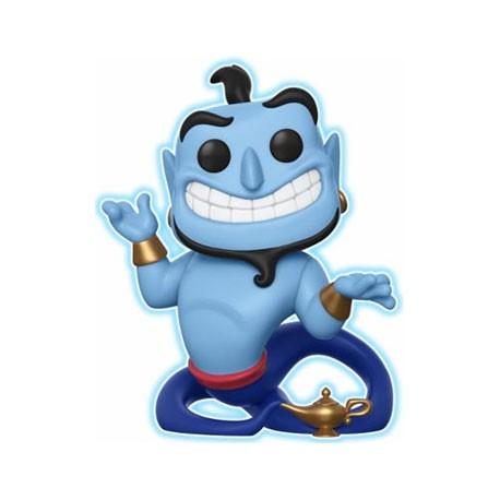 Figur Pop Disney Aladdin Glow in the Dark Genie with Lamp Limited Edition Funko Geneva Store Switzerland