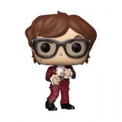 Figurine Pop Austin Powers Austin in Red Suit Edition Limitée Funko Boutique Geneve Suisse