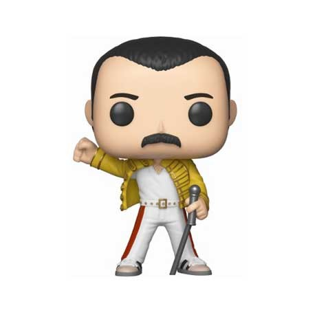 Figur Pop Music Queen Freddie Mercury Wembley 1986 Funko Geneva Store Switzerland