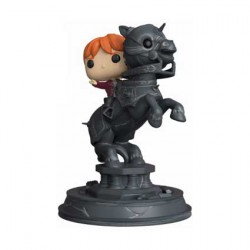 Figurine Movie Moments Harry Potter Ron Riding Chess Piece Funko Boutique Geneve Suisse