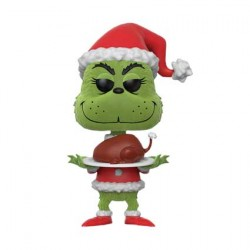 Figurine Pop The Grinch with Turkey Flocked Edition Limitée Funko Boutique Geneve Suisse