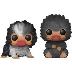Figur Pop Fantastic Beasts 2 Baby Nifflers Black and Grey 2-Pack Limited Edition Funko Geneva Store Switzerland