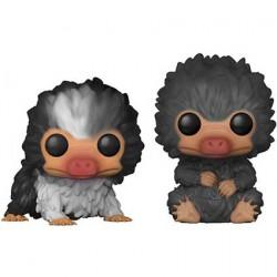 Figuren Pop Fantastic Beasts 2 Baby Nifflers Black and Grey 2-Pack Limitierte Auflage Funko Genf Shop Schweiz