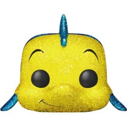 Figuren Pop Disney The Little Mermaid Flounder Diamond Glitter Limitierte Auflage Funko Genf Shop Schweiz
