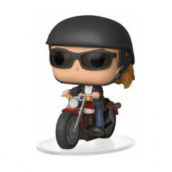 Figurine Pop Ride Marvel Captain Marvel Carol Danvers on Motorcycle Funko Boutique Geneve Suisse