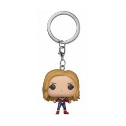 Figurine Pop Pocket Porte Clés Marvel Captain Marvel Funko Boutique Geneve Suisse